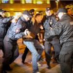 СМИ сообщают о десятках задержанных в центре Москвы