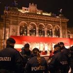В результате двух эпизодов резни в Вене ранены четыре человека. Подозреваемый задержан