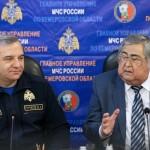 Кортеж Тулеева, который хотел «посмотреть пожар», едва не перекрыл доступ пожарным МЧС