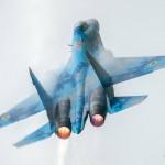 Украинские летчики-инструкторы показали высший пилотаж на RADOM-2018