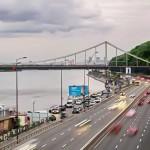 На 17 улицах Киева повысили разрешенную скорость движения до 80 км/ч