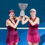 Украинки впервые в карьере выиграли малый Итоговый турнир WTA