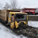 В Сватово грузовик врезался в микроавтобус и легковушки: двое погибших, пятеро пострадавших (ФОТО)