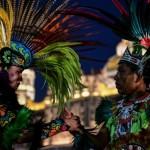 В Мексике отметили день Девы Марии Гваделупской потрясающим шоу