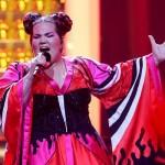Звезда Евровидения Нетта снимает свой новый клип вКиеве (фото)