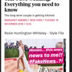 Роузи Хантингтон-Уайтли опровергла слухи о свадьбе со Стэтхэмом