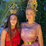 Оля Полякова отпраздновала день рождения в тайском наряде