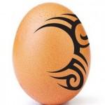 Яйцо с татуировкой разозлило Майка Тайсона