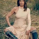 Синди Кроуфорд снялась в стильной фотосессии