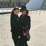 Кэтрин Зета-Джонс провела весенние каникулы с детьми в Париже, Марракеше и Дубае