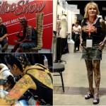 Любители татуировок собрались на Тату-Шоу в Буэнос-Айресе
