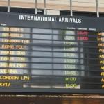 Уже 26 аэропортов мира поддержали правильное написание названий украинских городов