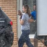 Дженнифер Лоуренс вернулась на съемки после почти двух лет