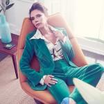 Виктория Бекхэм снялась в фотосессии для Vogue