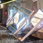 В Киеве взорвали и ограбили банк