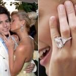 Дорогие обручальные кольца, которые были надеты на пальчики прекрасных женщин